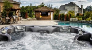 Bay® Collection hot tub.
